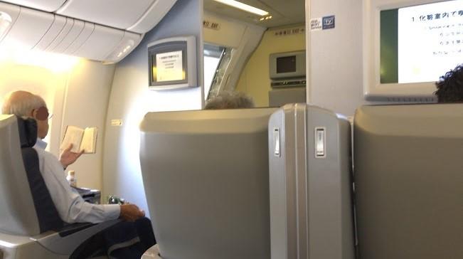 SFC修行2019 HND→HUKプレミアムクラス搭乗
